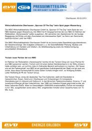 Sponsor Of The Day - New Basket 92 Oberhausen