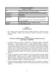 Článek 1 Úvodní ustanovení 1. Tato směrnice stanoví ... - Dokumenty