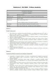Směrnice č. 20/2004 - Průkaz studenta - Dokumenty - Univerzita ...