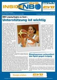 BV Leipzig Eagles - New Basket 92 Oberhausen