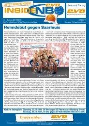 TV Saarlouis Royals - New Basket 92 Oberhausen