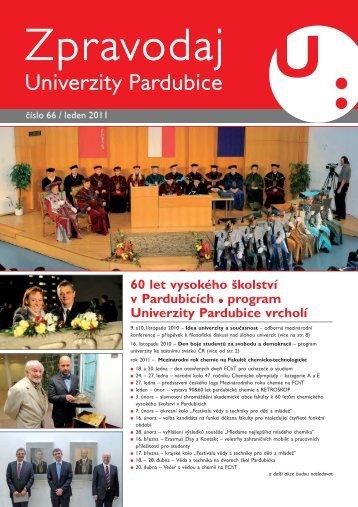 Univerzitní časopis - Zpravodaj číslo 66 leden 2011 - Dokumenty