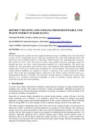 DISTRICT HEATING AND COOLING FROM ... - Aalto PRO