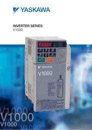 Inverter Drive Series V1000 - BERRIOLA S. Coop.