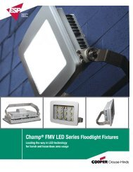 LED Floodlight Brochure:Layout 1.qxd - Ampmech.com