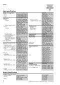PQT-90 Transducer Datasheet - Carlo Gavazzi - Page 2