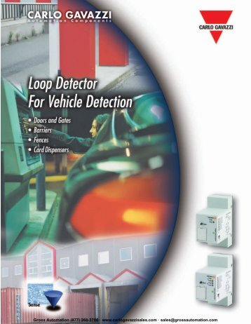 Loop Detectors - Carlo Gavazzi