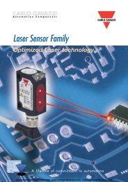 Laser Sensors - Carlo Gavazzi