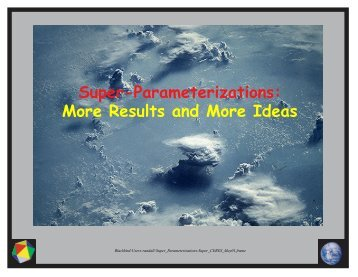 Results and More Ideas - ceres - NASA