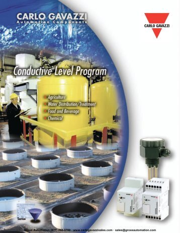 Conductive Level Controls - Carlo Gavazzi