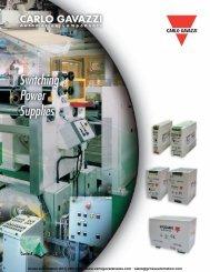 Product Catalog - Carlo Gavazzi