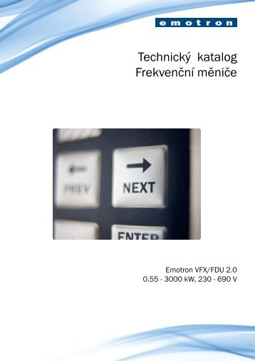 Product catalogue 2.book - Emotron