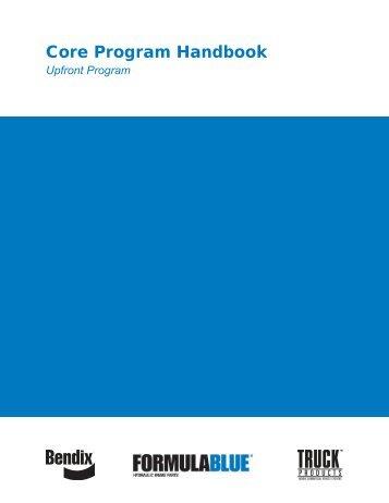 Core Program Handbook - Bendix