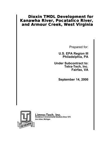 Kanawha River Watershed TMDL - US Environmental Protection ...