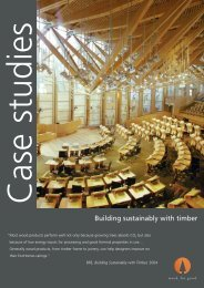 Building Sustainably with Timber - Eurban