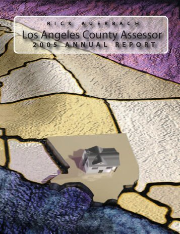 Los Angeles County Assessor Angeles County Assessor