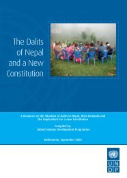 The Dalits of Nepal and a New Constitution - ConstitutionNet