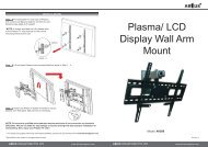 Plasma/ LCD Display Wall Arm Mount - ABtUS