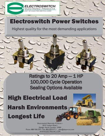 Flyer - Electro Switch