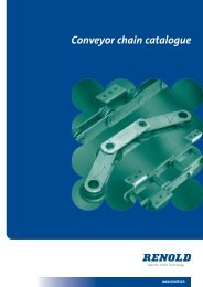 Conveyor chain catalogue - sections 1&2