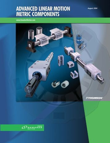 advanced linear motion metric components advanced linear motion ...