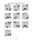 D augmented (Guitar Open D Tuning) - Acoustic Fingerstyle Guitar - Page 3