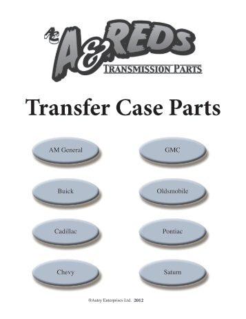 Transfer Case Parts - A & Reds