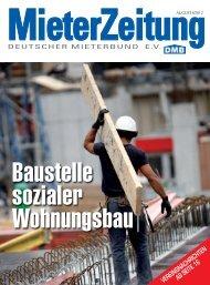 notwendig Dramatische Situation - Deutscher Mieterbund