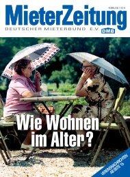 Handeln! Jetzt! INHALT - Deutscher Mieterbund