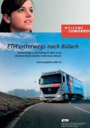ETH unterwegs nach Bülach - 150 Jahre ETH Zürich