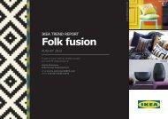 Trend Report: Folk Fusion - IKEA Catalog 2013