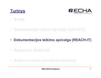 ECHA - Europa