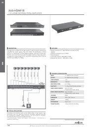 1:4 hdmi distribution amplifier - ABtUS