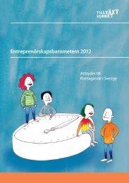 Entreprenörskapsbarometern 2012 - Visma Spcs AB