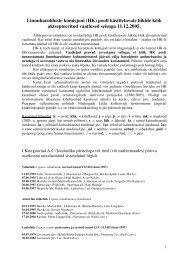 HK poolt aktsepteeritud vaatlused seisuga 1.01.2004
