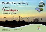 Vindbruksutredning - Falkenbergs kommun