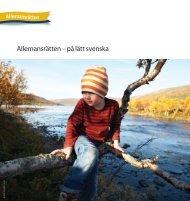 Allemansrätten – på lätt svenska - Naturvårdsverket