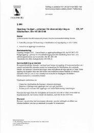 Principer för ekonomistyrning av lokalbanken. (Susanne Gustafsson)