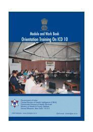 Orientation Training On ICD 10 - Central Bureau of Health Intelligence
