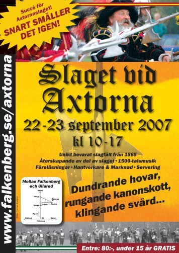 Programblad Axtorna.indd - Falkenbergs kommun