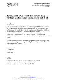 Gebührenrückerstattung - Brief an und von Herrn OB Ude - GEbKri