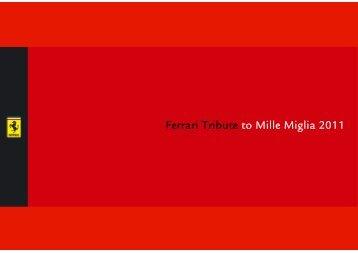 Ferrari Tribute to Mille Miglia 2011