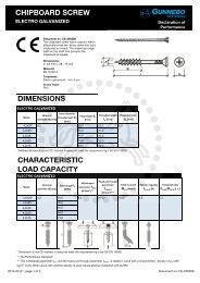 chipboard screw - Gunnebo Industries