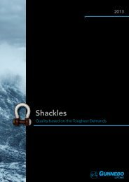 Shackle catalogue 2013.indd - Gunnebo Industries