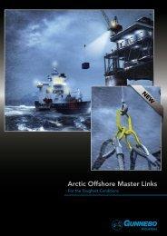 Arctic Offshore Master Links - Gunnebo Industries