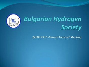 EHA_NAM_220610_Bulgaria - European Hydrogen Association