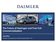 The Future Of Hydrogen And Fuel Cell Commercialization