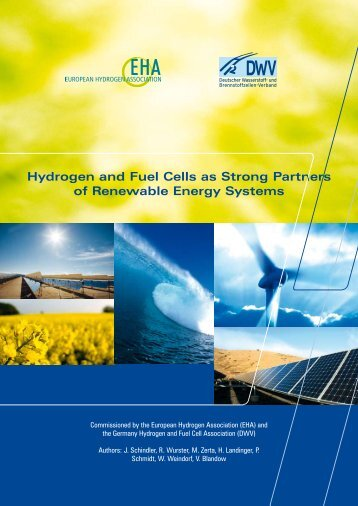 Hydrogen and Fuel Cells as Strong Partners of Renewable Energy ...