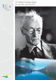 14. Silser Hesse-Tage 13. bis 16. Juni 2013