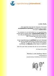 Seminar - Jugendherberge Heidelberg International